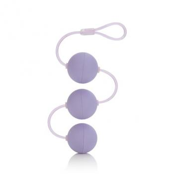 BOLAS ANALES FIRST TIME LOVE BEADS TRIPLE LOVER PURPLE