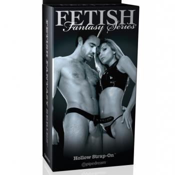 FETISH FANTASY SERIES HOLLOW STRAP-ON BLK