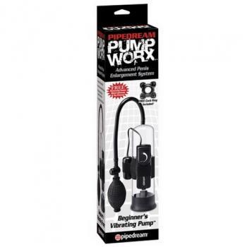 PD3250-23 PUMP WORX - Beginner's Vibrating Black