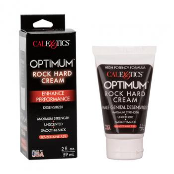 SE-2203-00-3 Optimum Rock Hard Cream Desensitizer  2 fl. Oz