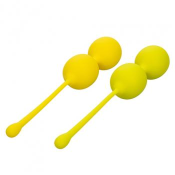 SE-1290-30-3 Kegel Training Set Lemon