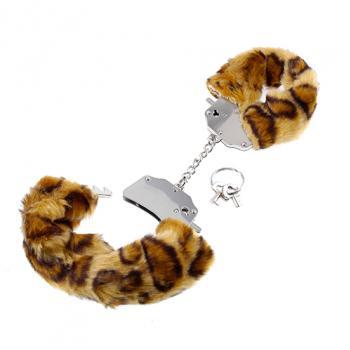 PD3804-39 Original Furry Cuffs Cheetah
