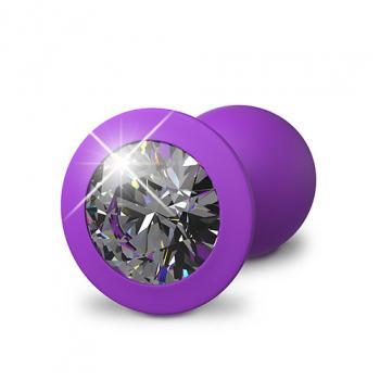 PD4949-12 Her Little Gem Small Plug Purple