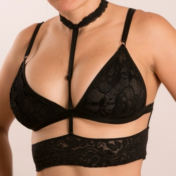 BRALETTE ISIS BLACK SMALL