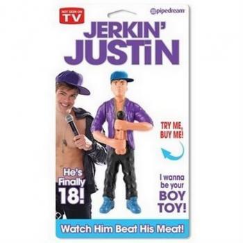 PD6457-00 Jerkin' Justin Wind-Up Doll