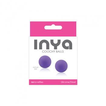 NSN-0550-25 INYA - Coochy Balls - Purple