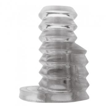 HP2842 THICK BOY VIBRATING SLEEVE CLEAR